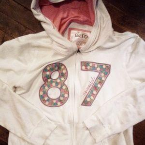 Aroe zip up hoodie